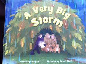 A Very Big Storm picture book on cooperation