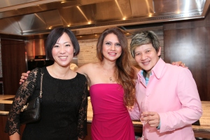 With Michelle Martin (938Live Producer-Presenter) and Elim Chew (Founder of 77th Street and Judge) Photo Credit: Mediacorp
