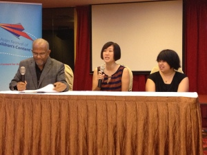 At the press conference with Mr Ramachandran, Festival Founder and Stephanie Wong, Epigram Books