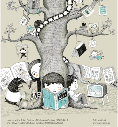One Big Story - artwork by Malaysian Illustrator Emila Yusof