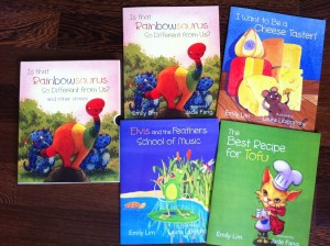 My 4-picture book collection for the Ministry of Social & Family Development