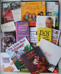 Pauline's many books