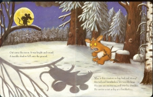 Gruffalo child shadow0001