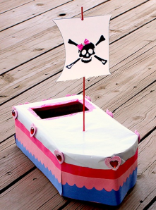 Pirate boat
