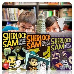 Sherlock Sam couple+covers
