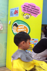 Caleb-haircutting