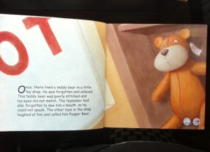 Opening page of Prince Bear & Pauper Bear