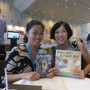 Jacaranda literary agent Andrea Pasion-Floresat Asian Festival of Children's Content