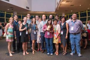 SCBWI Singapore members at AFCC