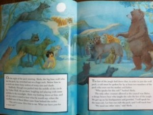 Jungle Book page