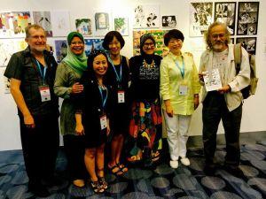 AFCC Publication Book Launch - writing children's books Asia