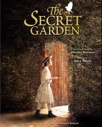 Children's book about lonely girl from India who finds secret garden