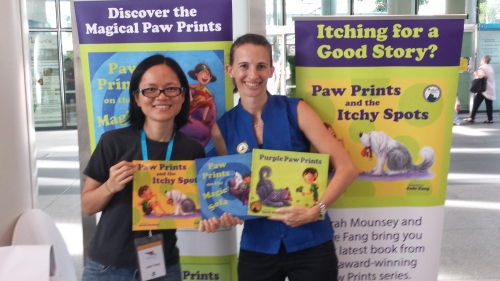 Author & Publisher Sarah Mounsey and Illustrator Jade Fang