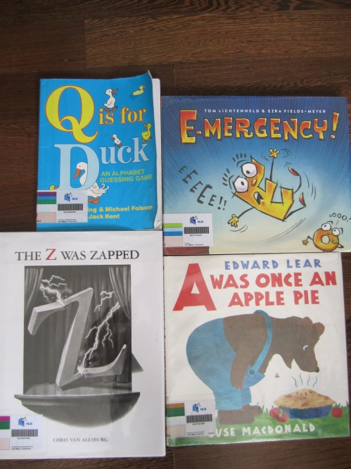 ABC books for young readers and up