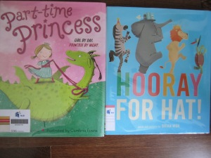 Children's picture books on sharing and individuality