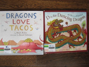 Dragons love Tacos, D is for Dragon