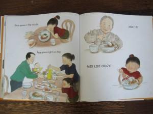 "Korean ""mixed up rice"" dish"