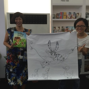 Tibby & Duckie Launch at Singapore Writer's Festival