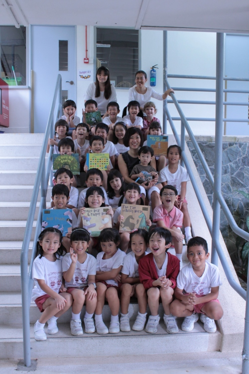 Author visit to SJCK in 2012