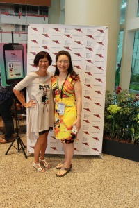 Rubbing  shoulders with Ying Chang Compestine, multi-award winning author (to the power of 100)