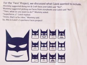 Superhero Faces