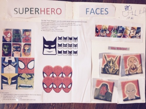 Superhero Faces