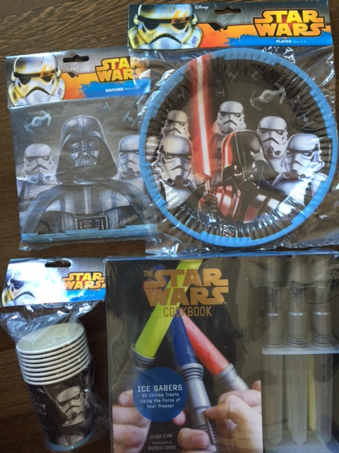 Star Wars partyware