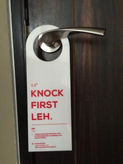 Door Hanger-Leh