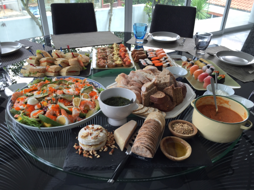MGS food spread