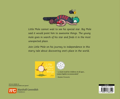 Little Mole Back Cover